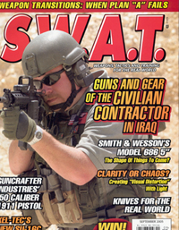 SWAT Magazine Cover